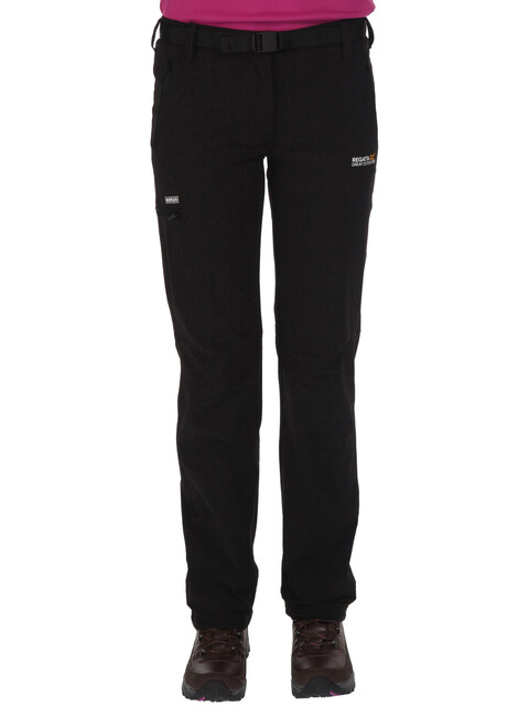 Regatta Xert Stretch II lange broek Dames short zwart